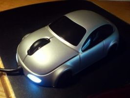Car Laser Mouse by TheNamelessOne666