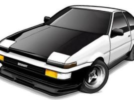 Toyota Corolla Levin Vector by RAD-Master-PL