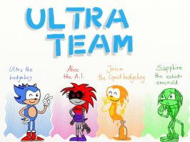 Ultra-the-Hedgehog's team by NatalieTheAntihero