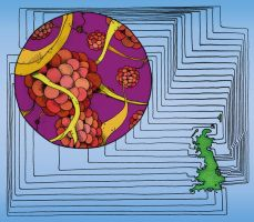 Steel-eating microbes 2 by limejellybean