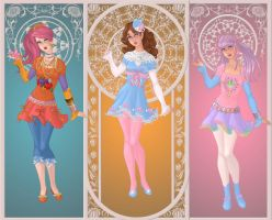 Goddesses of Harajuku by OperaticAnimeNimue