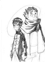 Deux mecs comme ca. by BlOoGuear
