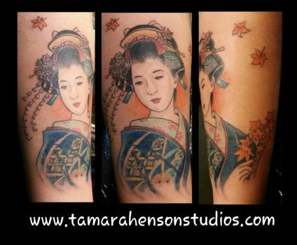 TATTOO: Geisha by briescha
