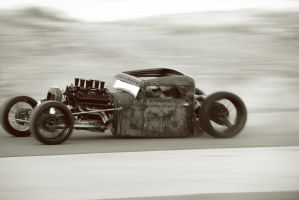 rat rod race by SurfaceNick