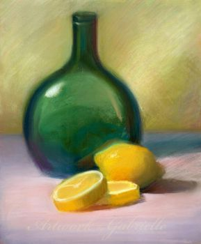 Lemon Still Life by gabbyd70