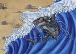 Gods of Nature - Flooding Water by LupaSola