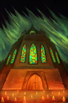 The Solemn Cathedral by Razowi