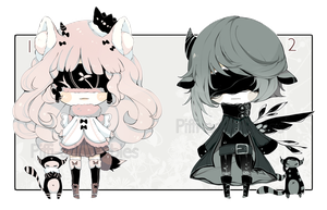[OPEN -  1 left] ADOPT AUCTION 200 - Blind Lace by Piffi-adoptables