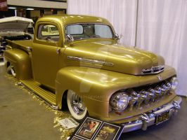 Gold Truck by Jetster1