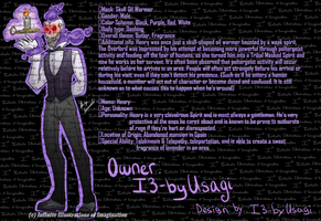 Henry the Butler by I3-byUsagi
