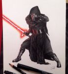 Kylo Ren by SoooThisIsArt----Wow