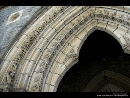 Church Entrance by AlexandreGuilbeault