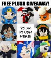 Sakky's 5th Annual Free Plush Giveaway! LAST CALL by sakkysa