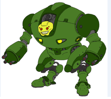 Happy Mecha Death Machine by Angryspacecrab
