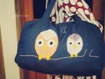 OwlTravelbag by heppieyippie