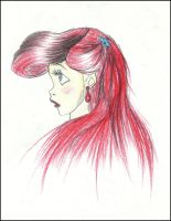 Ariel old sketch by carldraw