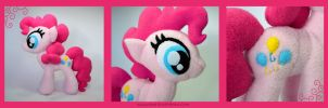 Pinkie Pie Plushie by Dragons-Garden