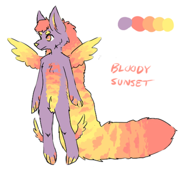 Bloody Sunset by Xmaster1