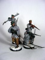 German ski troops by Quenta-Silmarillion