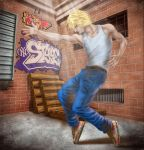 Back Alley Dance Coloured by dreamstone