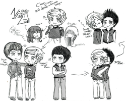 Random Chibi Ziall (and Niam) #2 by YamiMana
