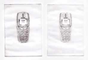 Cellphone - Test Prints by groundhog22