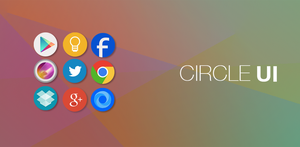 Circle UI (Apex / Nova Launcher Theme) by Alex--design