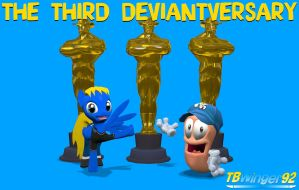 The Third Deviantversary by TBWinger92