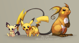 Electric Trio by elbdot