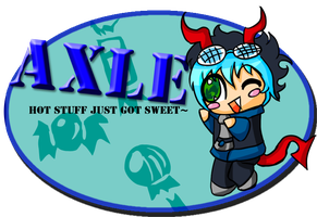 ER:: Axle Chibi request by Gone4awhile2