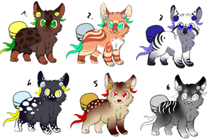 CLOSED - BellTails Adoptables 349 by LeaAdoptables