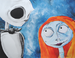 Jack and Sally by Joojie99