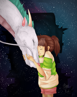 Spirited Away by Rimokonn