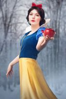 Snowwhite in the snow. by simplearts