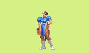 Chun li pose gif by Jhonthestampede
