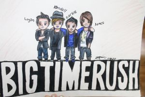 Big Time Rush by ccstefsoccer4
