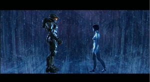 Halo 4 : Master Chief and Cortana by TheWarRises