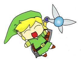 Request - Link + Navi by RebeccaProductions
