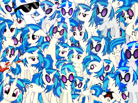 Too Much Vinyl Scratch by X-TURENT