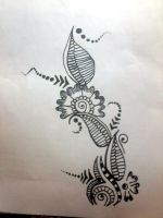 Mehndi pattern design 2 by Aniiron
