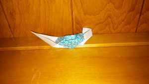 Paper Ship by SheriR