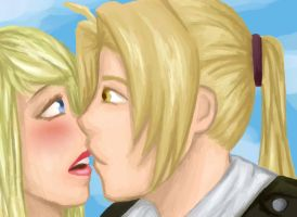 Ed and Winry - FMA by IveGotArtitude13