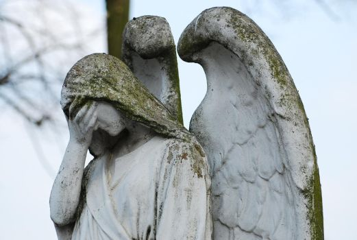 Sadness_angel_stock by elanordh-stock