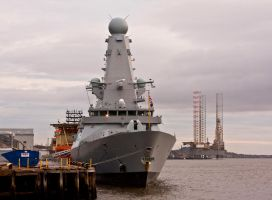 Destroyer HMS Duncan I by DundeePhotographics