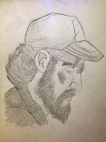 Kenny - The Walking Dead by ArbitraryLabby