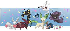 PKMNation - Happy Mothers Day~ by kitzune-griffith