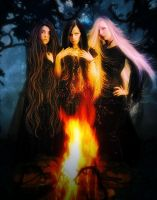 Salem's witches by Fae-Melie-Melusine