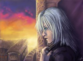 Riku's visit to Twilight Town by oneoftwo