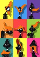The Many Faces of Daffy Duck by JessiD303