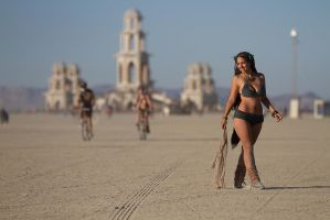 Burning Man - At the Temple 2 by shadowhearts